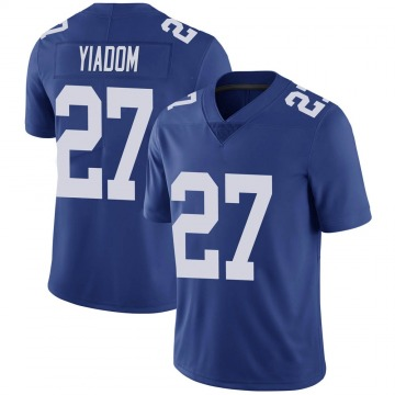 Men's Isaac Yiadom New York Giants Limited Royal Team Color Vapor Untouchable Jersey