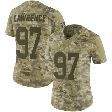 Women's Dexter Lawrence New York Giants Limited Camo 2018 Salute to Service Jersey