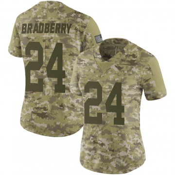 Women's James Bradberry New York Giants Limited Camo 2018 Salute to Service Jersey