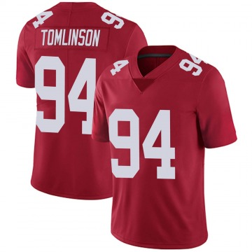Youth Dalvin Tomlinson New York Giants Limited Red Alternate Vapor Untouchable Jersey