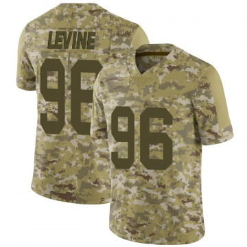 Youth Dana Levine New York Giants Limited Camo 2018 Salute to Service Jersey