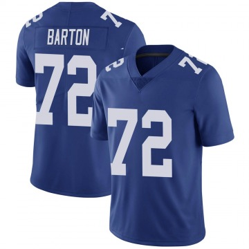 Youth Jackson Barton New York Giants Limited Royal Team Color Vapor Untouchable Jersey