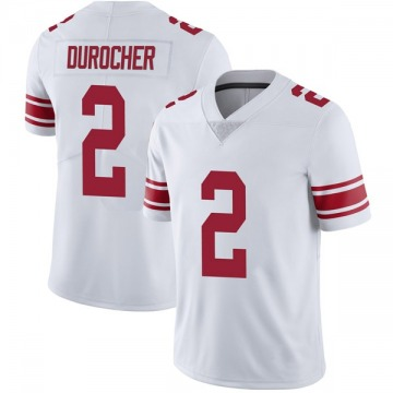 Youth Leo Durocher New York Giants Limited White Vapor Untouchable Jersey