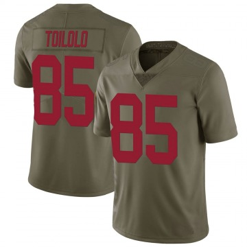 Youth Levine Toilolo New York Giants Limited Green 2017 Salute to Service Jersey